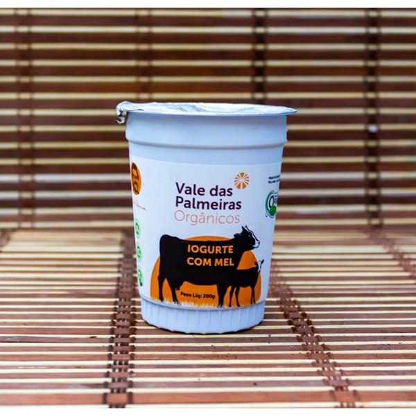 Iogurte orgânico com mel - 200g
