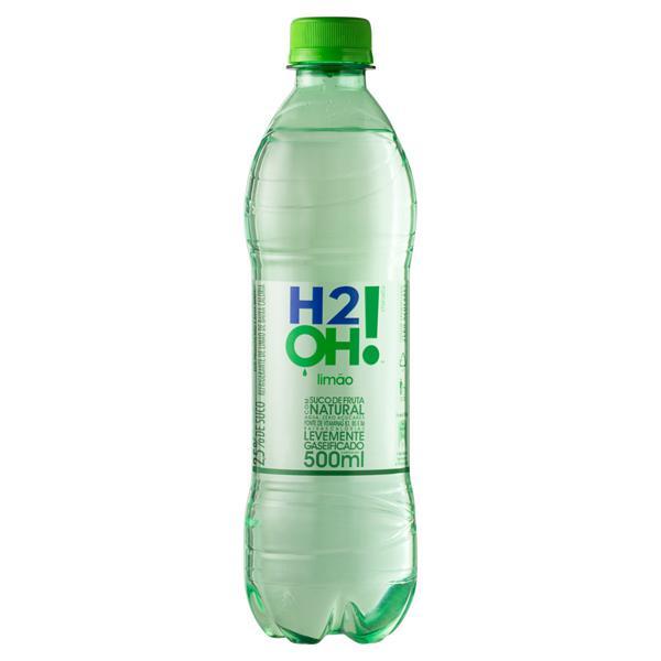 Refrigerante Limão Zero Açúcar H2OH! Garrafa 500ml