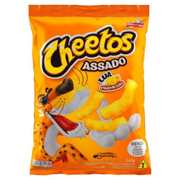 Salgadinho de Milho Lua Parmesão Elma Chips Cheetos Pacote 140g