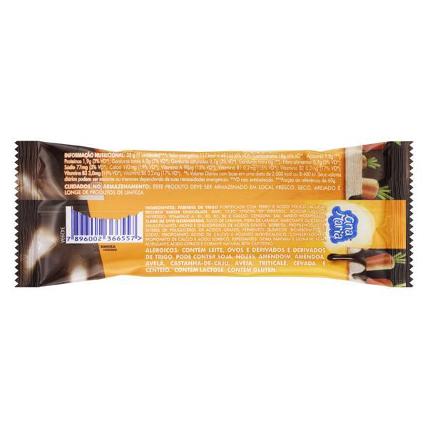 Bolo Cenoura Recheio Chocolate Ana Maria QD+ Pacote 35g