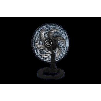 TRON Ventilador Mesa Premium 50cm PP 127V Branco/Vermelho