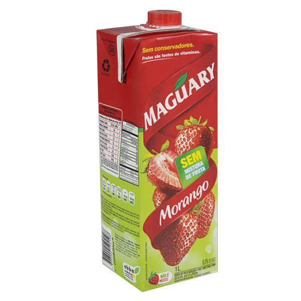 Bebida Adoçada Morango Maguary Caixa 1l