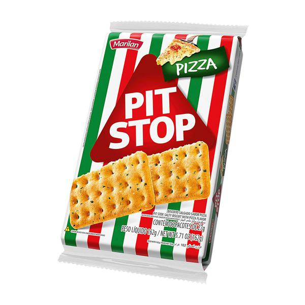 Biscoito PIT STOP Marilan Pizza 162g