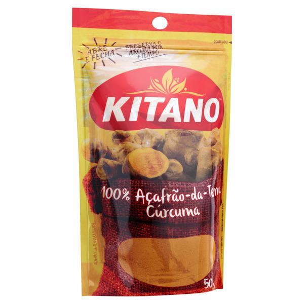 Açafrão-da-Terra Kitano Pacote 50g