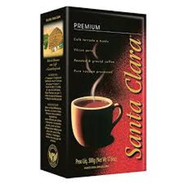 Café Torrado e Moído a Vácuo Santa Clara Premium Pacote 250g