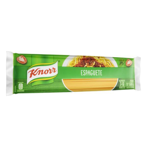 Macarrão de Sêmola Espaguete Knorr Pacote 500g