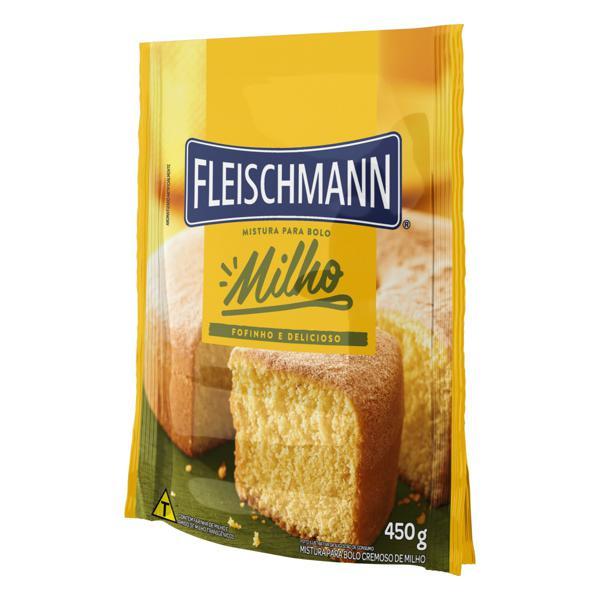 Mistura para Bolo Cremoso Milho Fleischmann Pacote 450g