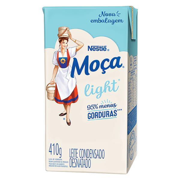 Leite Condensado Desnatado Light Nestlé Moça Caixa 410g
