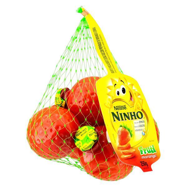 Iogurte Parcialmente Desnatado Morango Nestlé Ninho Fruti 250g