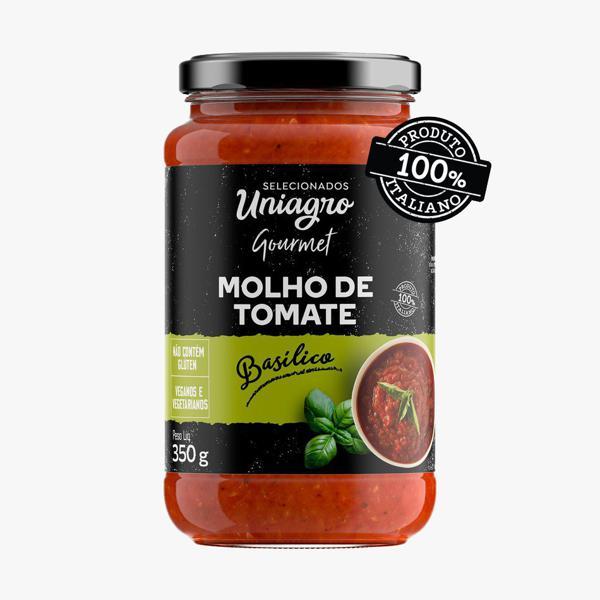 Molho de tomate Basilico ( 350g) Vegano- produto 100% Italiano