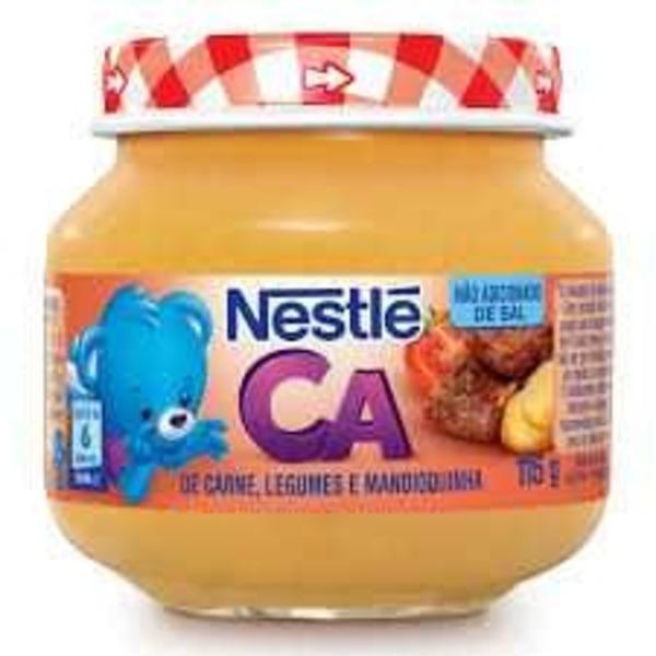 Alimento Infantil NESTLE Carne, Legumes e Mandioquinha 115g