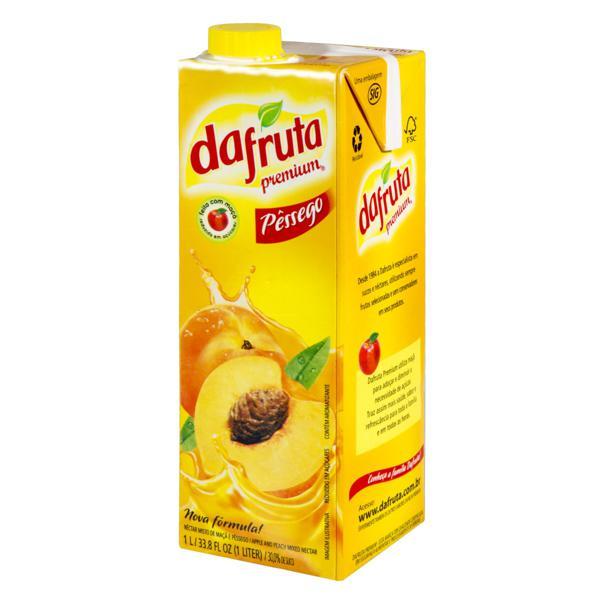 Néctar Misto Pêssego Dafruta Premium Caixa 1l