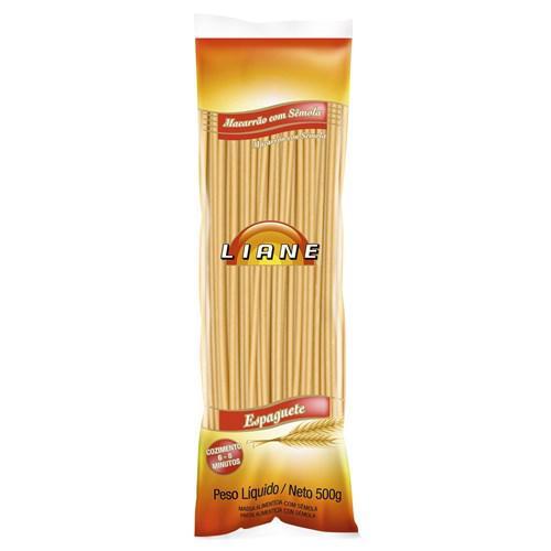 Macarrão Espaguete LIANE Sêmola 500g