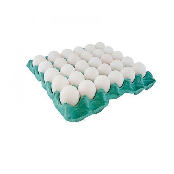 Bandeja Ovos C/30Und Branco
