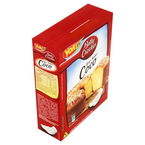 Mistura para Bolo Coco Yoki Betty Crocker Caixa 425g
