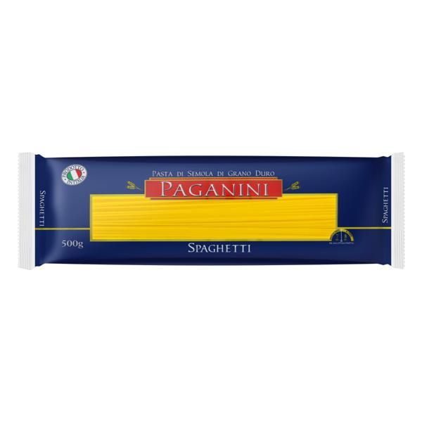 Macarrão de Sêmola Grano Duro Spaghetti Paganini Pacote 500g
