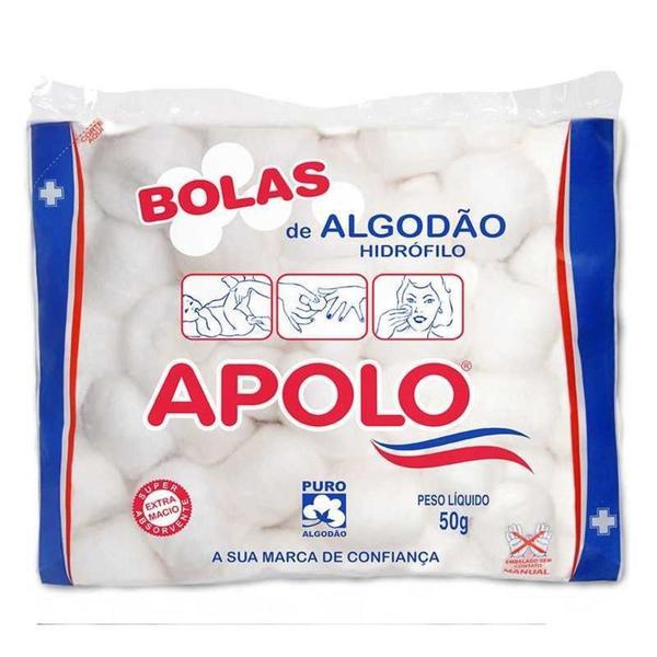 Algodão Bolas APOLO 50g