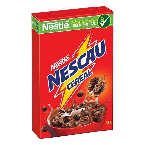 Cereal Matinal Chocolate Nestlé Nescau Caixa 210g
