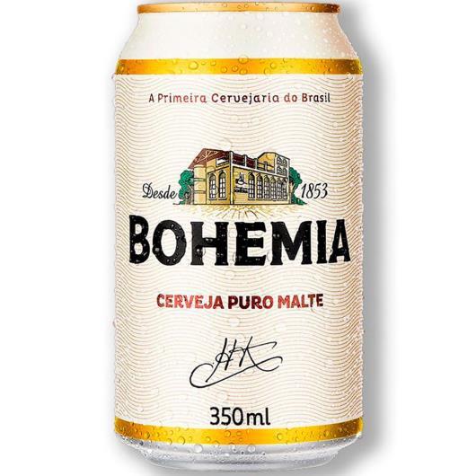 Cerveja Bohemia Puro Malte LT 350ML