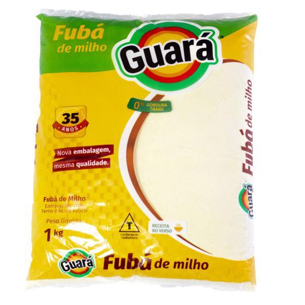 Fuba De Milho Guara 1Kg Pacote