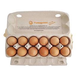 Ovos Orgânicos Caipiras (YAMAGUISHI) - 12 Unidades