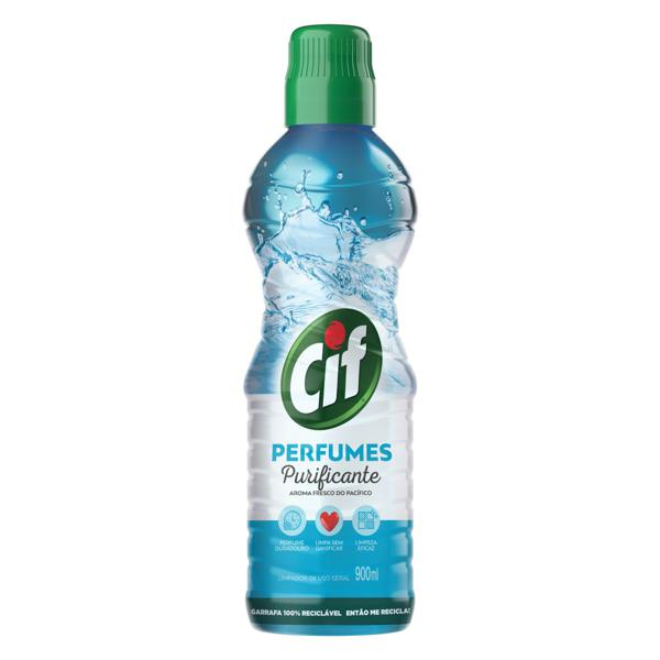 Limpador Uso Geral Purificante Cif Perfumes Frasco 900ml