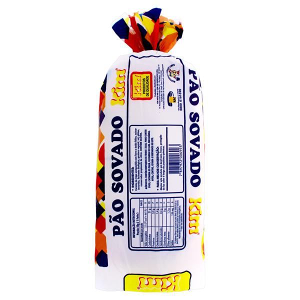 Pão Sovado Kim Pacote 500g
