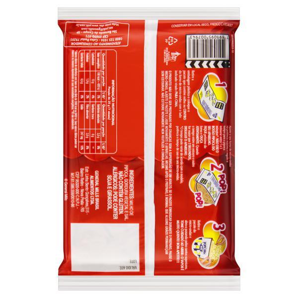 Pipoca para Micro-Ondas Natural com Sal Yoki Pacote 50g