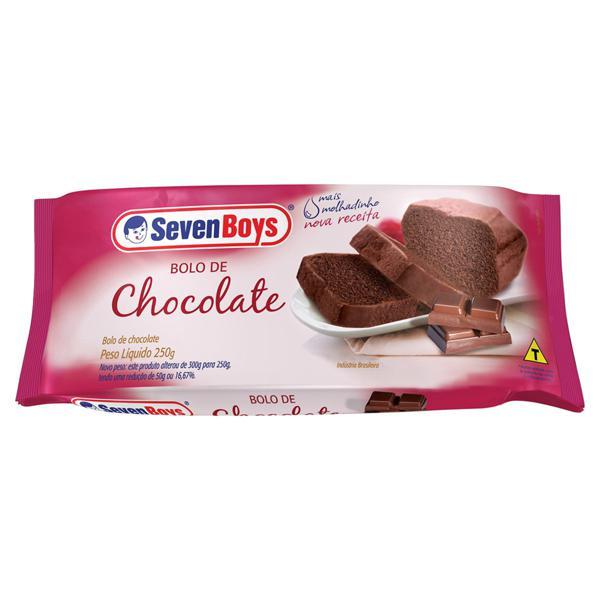 Bolo Chocolate Seven Boys Pacote 250g