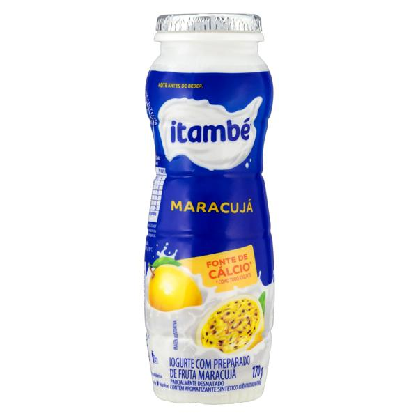 Iogurte Parcialmente Desnatado Maracujá Itambé Frasco 170g