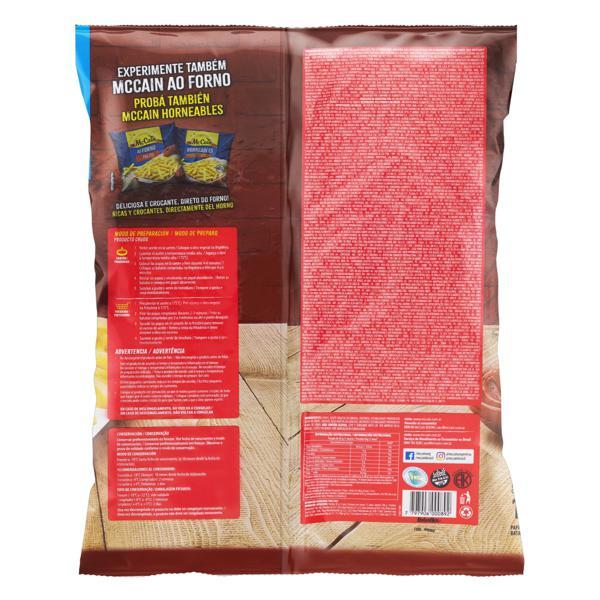 Batata Pré-Frita Tradicional Congelada McCain Pacote 1,5kg