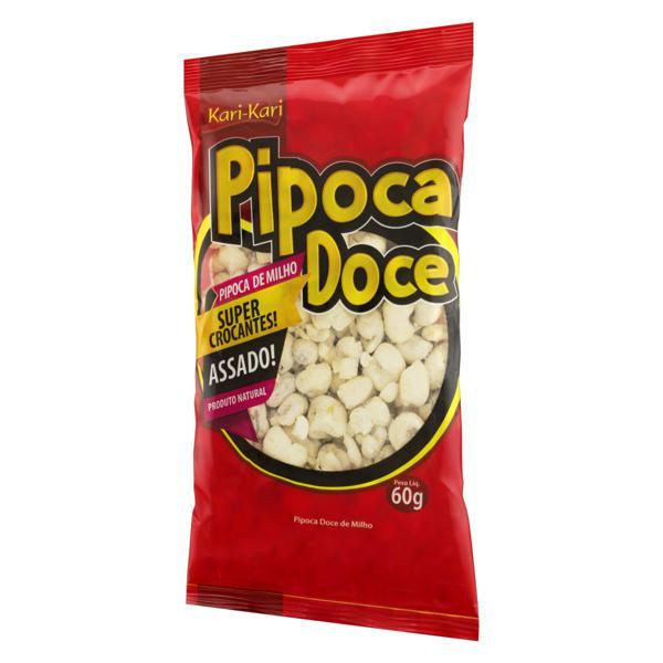 Pipoca Pronta Doce Kari-Kari Pacote 60g