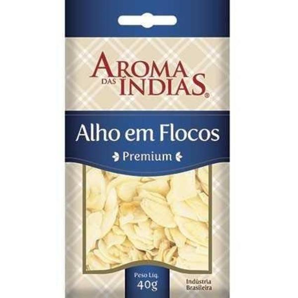 Alho AROMA DAS ÍNDIAS Flocos 40g