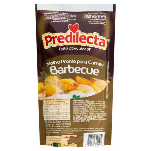Molho Barbecue Predilecta Sachê 240g