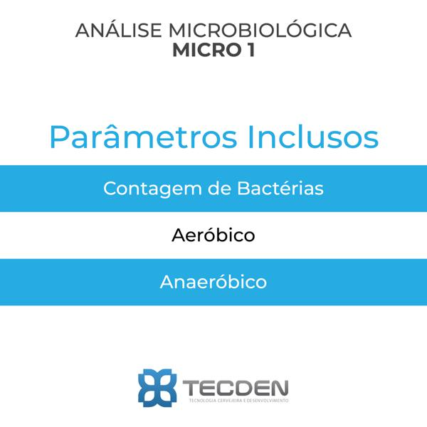 Análise Microbiológica - Grupo Micro I
