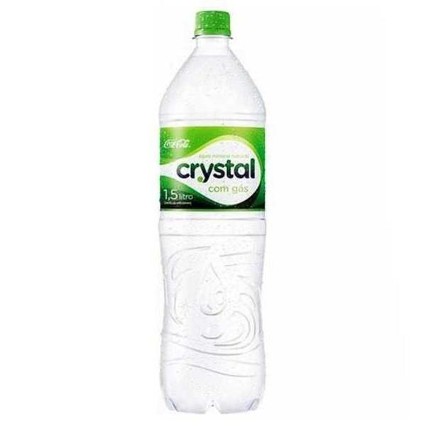 Água CRYSTAL com Gás 1,5L