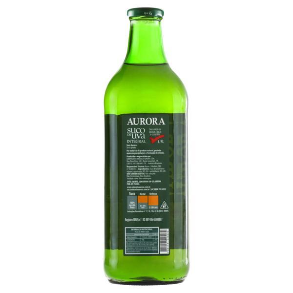 Suco Integral Uva Branco Aurora Garrafa 1,5l
