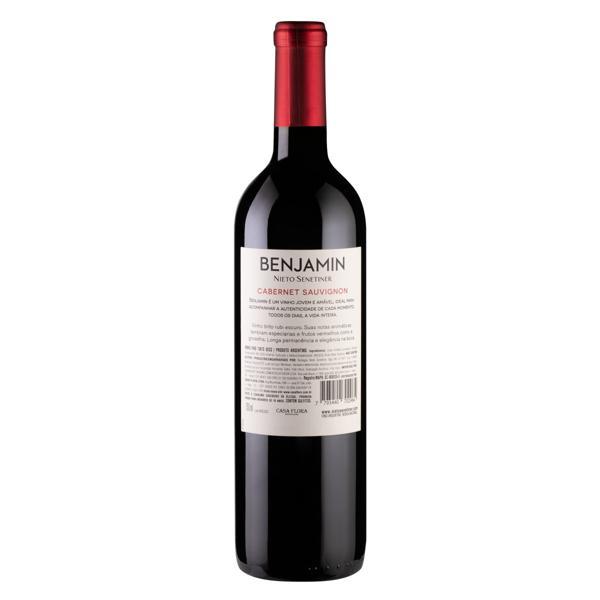 Vinho Argentino Tinto Seco Benjamin Nieto Senetiner Cabernet Sauvignon Garrafa 750ml