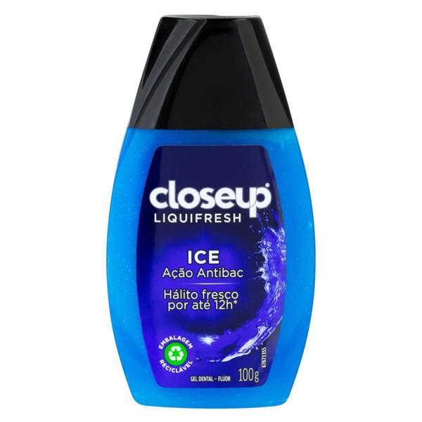 Gel Dental Ice Closeup Liquifresh Frasco 100g
