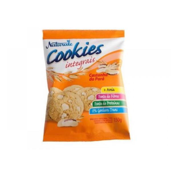 Cookie integral com castanha do pará Naturale