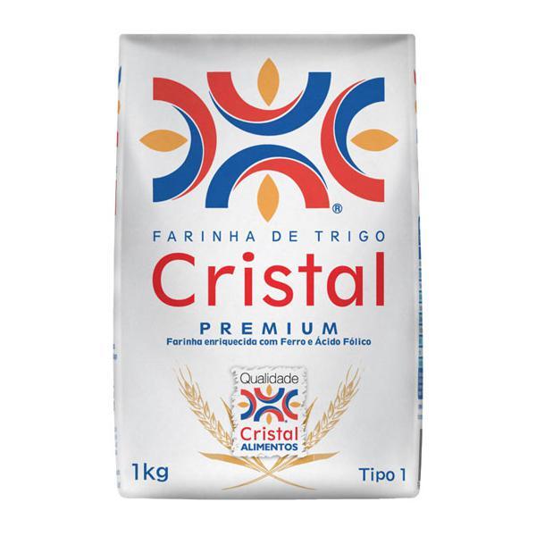 Farinha Trigo CRISTAL 1Kg