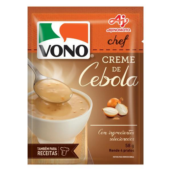 Creme Cebola Vono Chef Sachê 58g