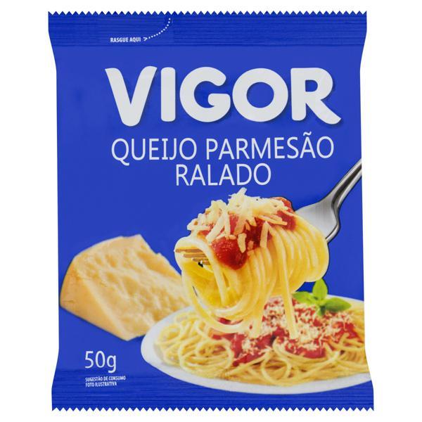 Queijo Parmesão Ralado Vigor Pacote 50g