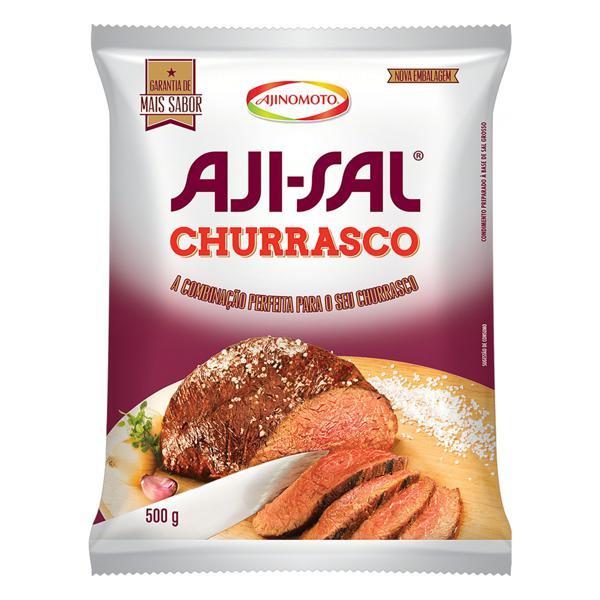 Sal Grosso para Churrasco Aji-Sal Pacote 500g