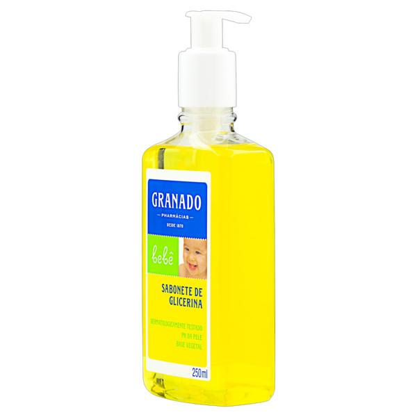 Sabonete Líquido de Glicerina Granado Bebê Frasco 250ml
