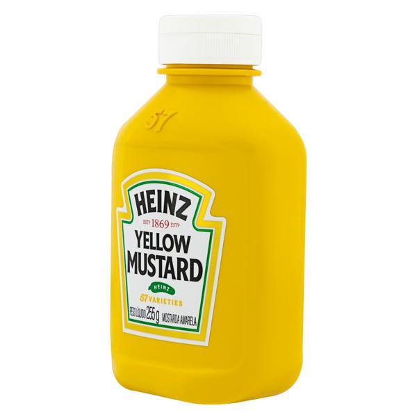 Mostarda Amarela Heinz Squeeze 255g