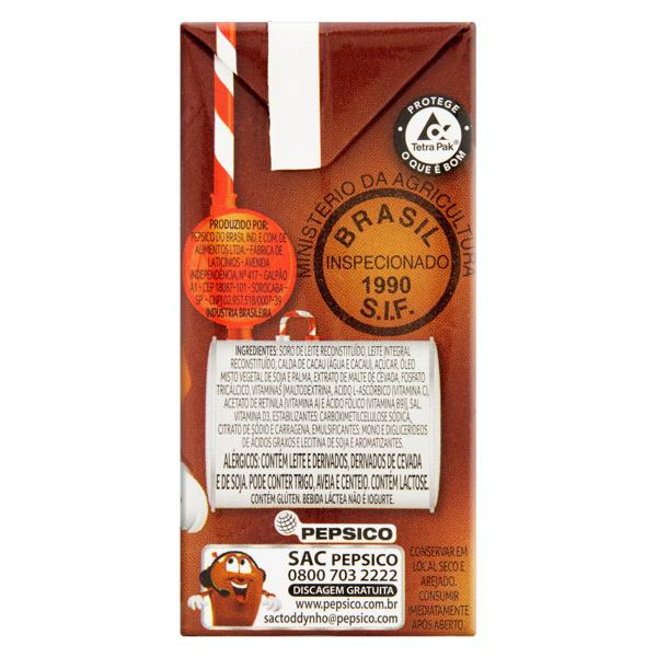 Bebida Láctea UHT Chocolate Toddynho Caixa 200ml