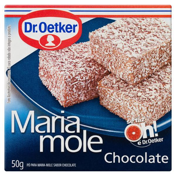 Pó para Maria Mole Chocolate Dr. Oetker Caixa 50g