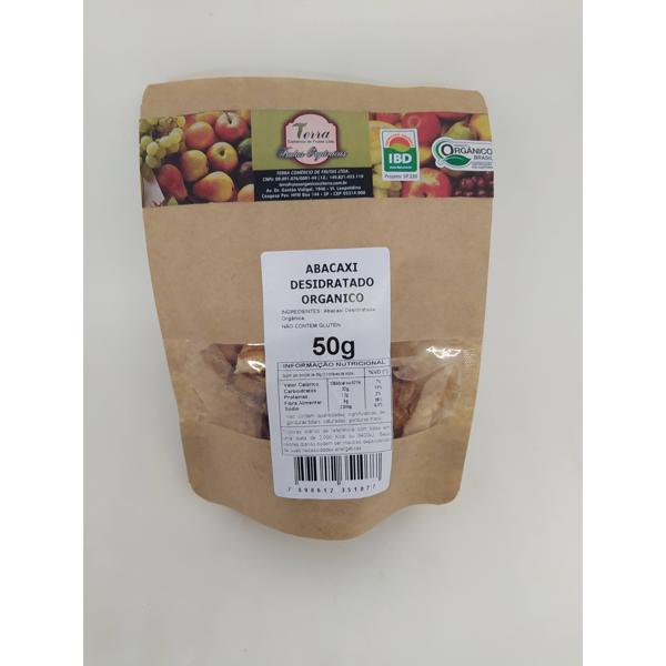 Abacaxi Desidratado Orgânico (50g)