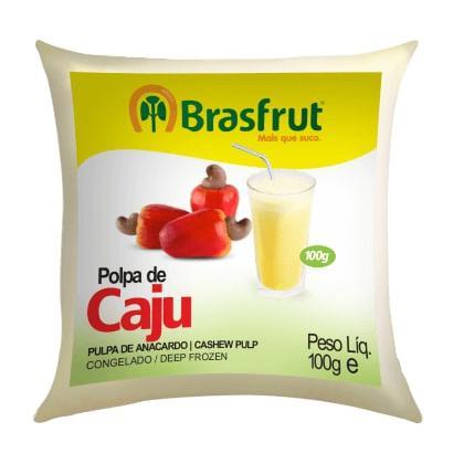 Polpa de Fruta BRASFRUT Caju 100g
